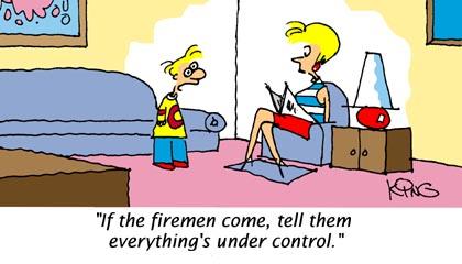 Firemen - Funny Cartoons